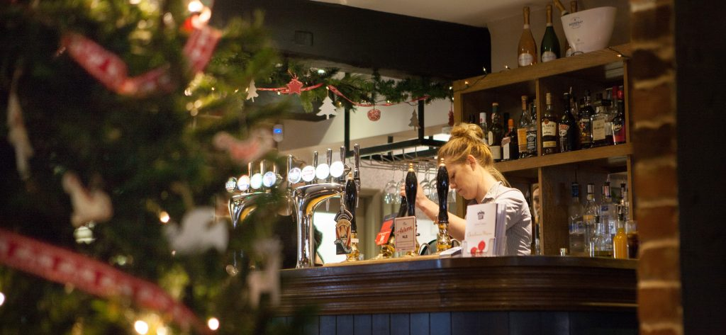 Christmas at The Queen's Head