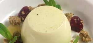 Apple Panna Cotta